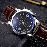 YAZOLE 2017 Fashion Business Wrist Watch Men Top Brand Luxury Famous Male Clock Quartz Watch For
