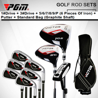PGM. MEN Of With Bag Full Set Clubs Complete Driver Head Putters Honma Iron Top selling Oem Golf 7 Wedge Brand