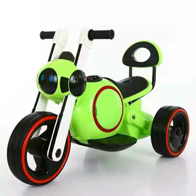 Space Dog Children Electric Motorcycle Lights Music Electric Toddler Battery Toy Car Electric Kids Cars Ride on Toys