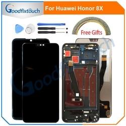 Écran LCD pour Huawei Honor 8X JSN-AL00 JSN-L22 JSN-L21 écran LCD écran tactile numériseur assemblée avec cadre pièces de réparation