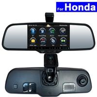 Android Espelho Retrovisor Do Carro DVR GPS WI-FI Bluetooth para Honda CRV Civic Accord Acura Odyssey Cidade Fit Jazz Jade Auto Monitor