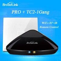 Nouveau Broadlink RM2 RM PRO Smart Home Contrôleur + Smart Interrupteur TC2 1 gangs Universelle Intelligente Télécommande By iphone 5 5s