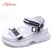 Aphixta Gladiator Platform Sandals Women's Sandals