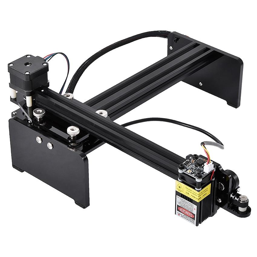 MN1703 High-power DIY Laser Engraving Machine Metal Leather Wood Board Pattern Text Marking Machine 12V 300mw-7000mw Optional
