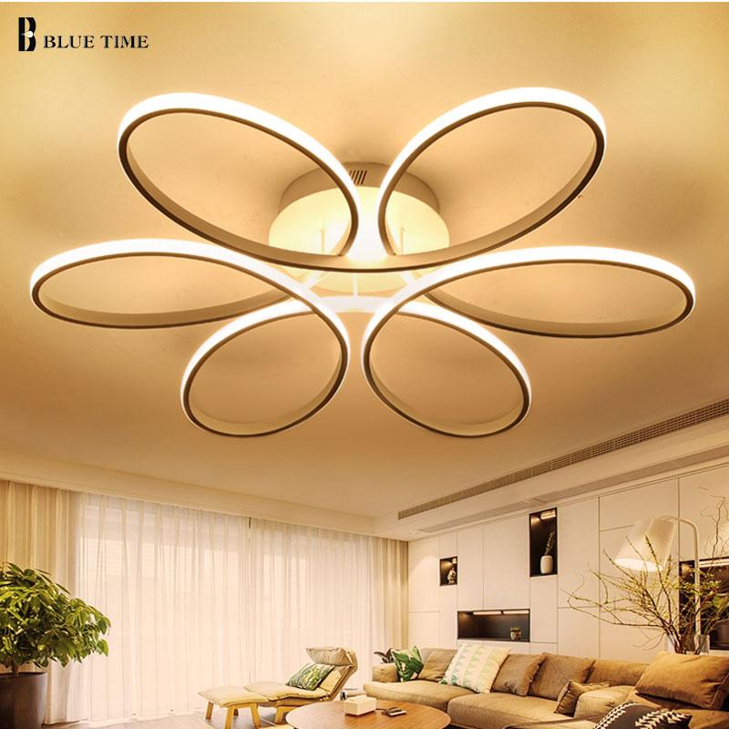 NEW Modern LED ceiling lights for living room bedroom Lamp modern led ceiling lamp dimming home lighting luminarias AC110V 220V