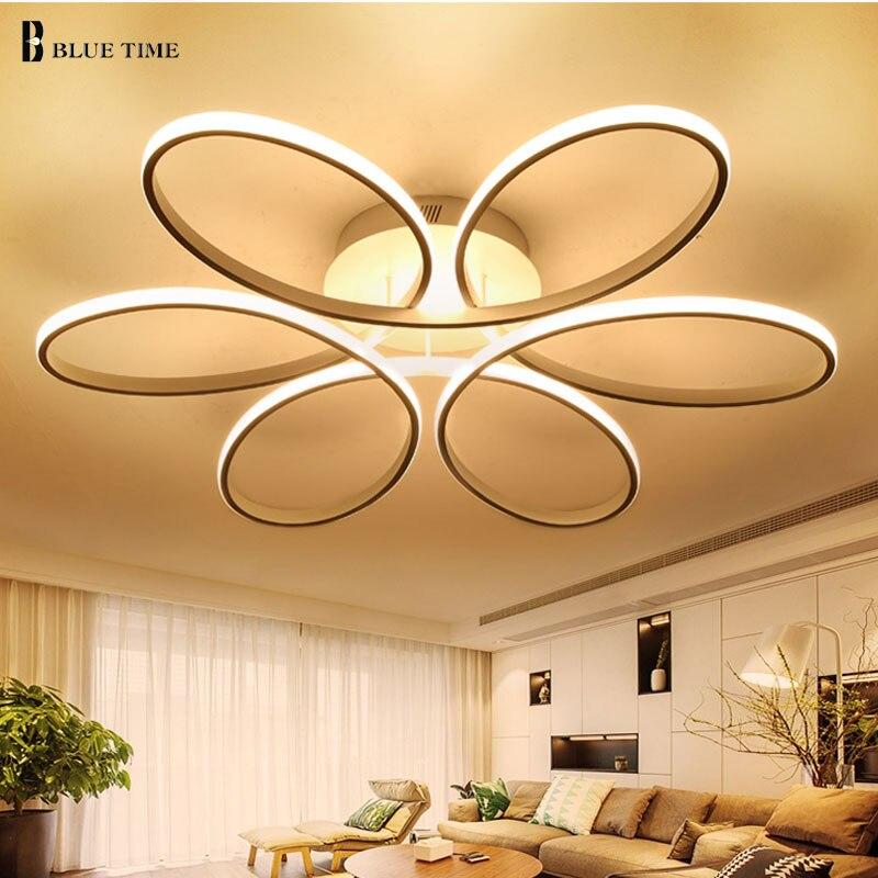 NOUVEAU Moderne LED plafonniers pour le salon chambre Lampe moderne led plafond lampe gradation maison éclairage luminarias AC110V-220V