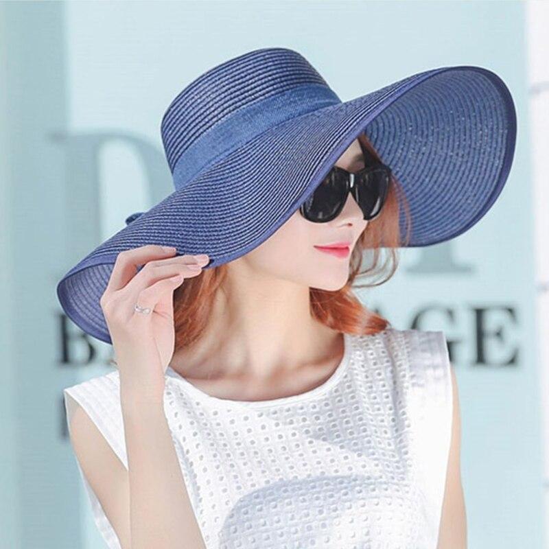 İsti Satış Yay Günəşli Şapka Qadınlar Üçün Böyük - Geyim aksesuarları - Fotoqrafiya 4