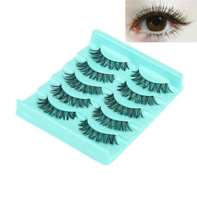 Big sale! 5 Pair/Lot Crisscross False Eyelashes Lashes Voluminous Hot Eye Lashes  Y503