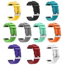 OOTDTY 22MM Watchband for Garmin Fenix 5 for forerunner 935 GPS Watch Quick Release Silicone Easyfit Wrist Band Strap