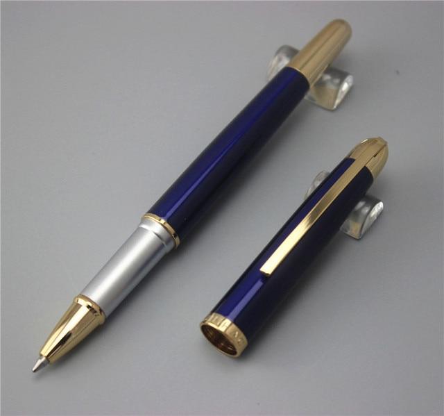 Синий JINHAO 606 Шариковая ручка для школы офиса поставки мужские и женские шариковые ручки высокого качества Бизнес подарок отправка 2 шт запра...