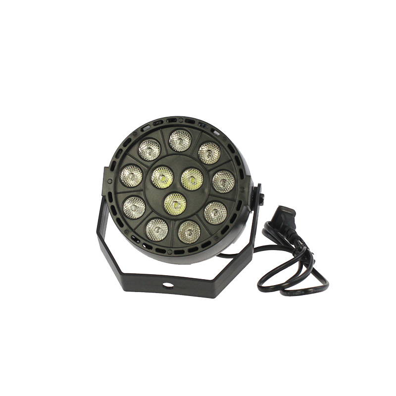 12 LED par light DMX512 Sound control colorful LED stage light for music concert bar KTV disco effect lighting