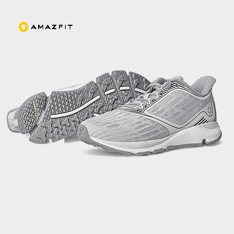 Original Xiaomi Amazfit Antelope Light Smart Shoes Outdoor Sports Sneakers Rubber Support Smart Chip not include
