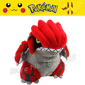 No.383 14cm Japanese Pokemon XY Groudon Plush Toys Stuffed 2016 Explosion Pikachu Models Doll For Kid Gift