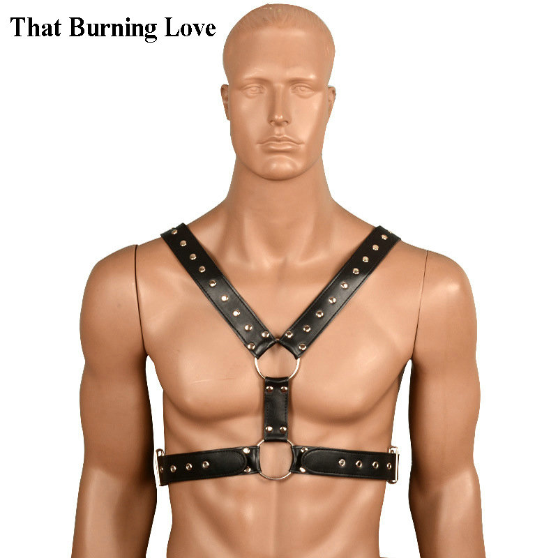 That Burning Love Pu Leather Sex Bondage Restraints Sexy -6816