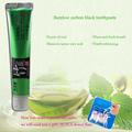 100 g Pure and fresh and green tea scent   Bamboo charcoal all-purpose whitening  the black toothpaste