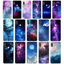 101 ZX Space Star TPU Soft Silicone Phone Case for Xiaomi Redmi Note 4 4X 5 7 6 pro plus a2 lite Cover