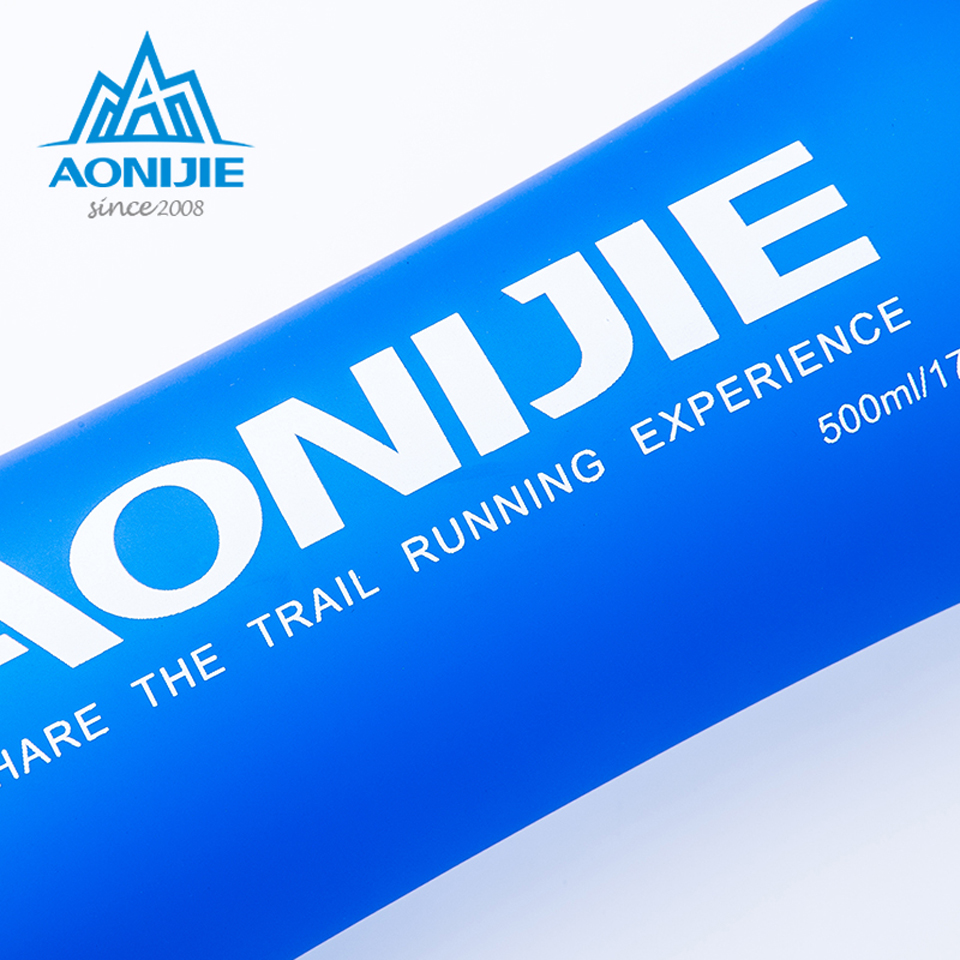 AONIJIE Outdoor Folding Soft Long Straw Outdoor Drinking Bottle Travel Sport Camping Hiking Water Bag 170ML 250ML 500ml Multan