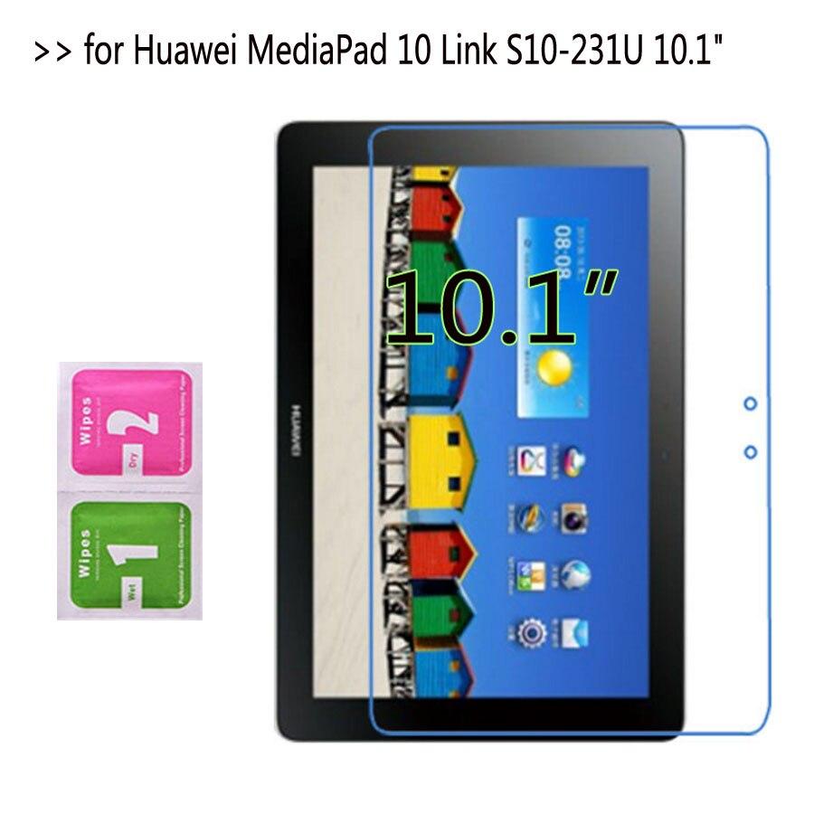 """2 шт прозрачный мягкий ультра тонкий экран протекторы для huawei MediaPad 10 Link S10-231U 10,"""" планшет защитная пленка"""