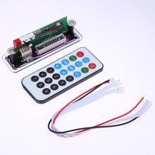 Módulo Bluetooth integrado a Bordo de Decodificación MP3 Decodificador de Audio w/Tarjeta SD ranura/USB/FM/FM/AUX del Mando a distancia Para El Coche