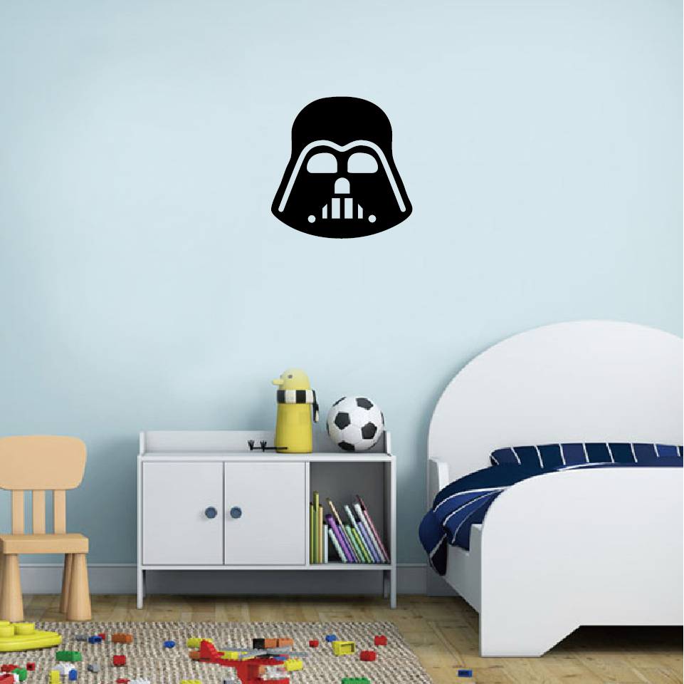 Classic film star wars darth vader wall stickerdecal in underwear aeproducttsubject amipublicfo Gallery