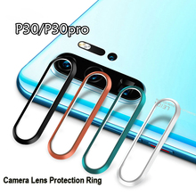 For Huawei P30 Pro Camera Lens Protection Ring for Huawei P30 Rear Lens Ring Case Metal Bumper Black Green Sliver