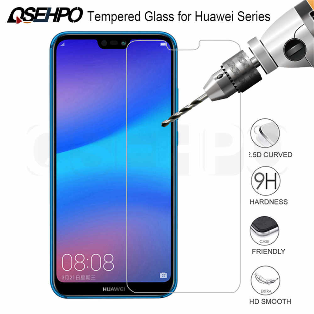 Tempered Glass On The For Huawei P20 P30 Lite P Smart 2019 Screen Protector For Huawei P20 Lite Mate 20 Lite 20X Protective Film