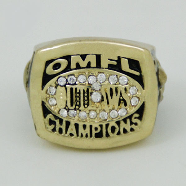 Hand Make My Day CR-20487 HOT SELLING Sport Ring 2009 OMFL Outlaws Ring Championship Ring 1 piece on sale cutome