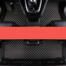 lsrtw2017 luxury fiber leather car interior floor mat for great wall haval h1 h3 h5 h6 h7 h8 h9 2010-2020 M4