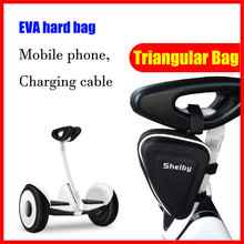EVA hard bag hanging triangular bag for xiaomi mini or mini pro electric self balance scooter ninebot 9 self balance scooter bag