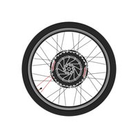Second Generation Intelligent Micro Power Wheel Bicycle Refit Electric Vehicle Mountain Road Recreational Vehicle Boost