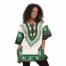 2016 Hot Dashiki African models dress National Costume Dashikis wholesale free shipping