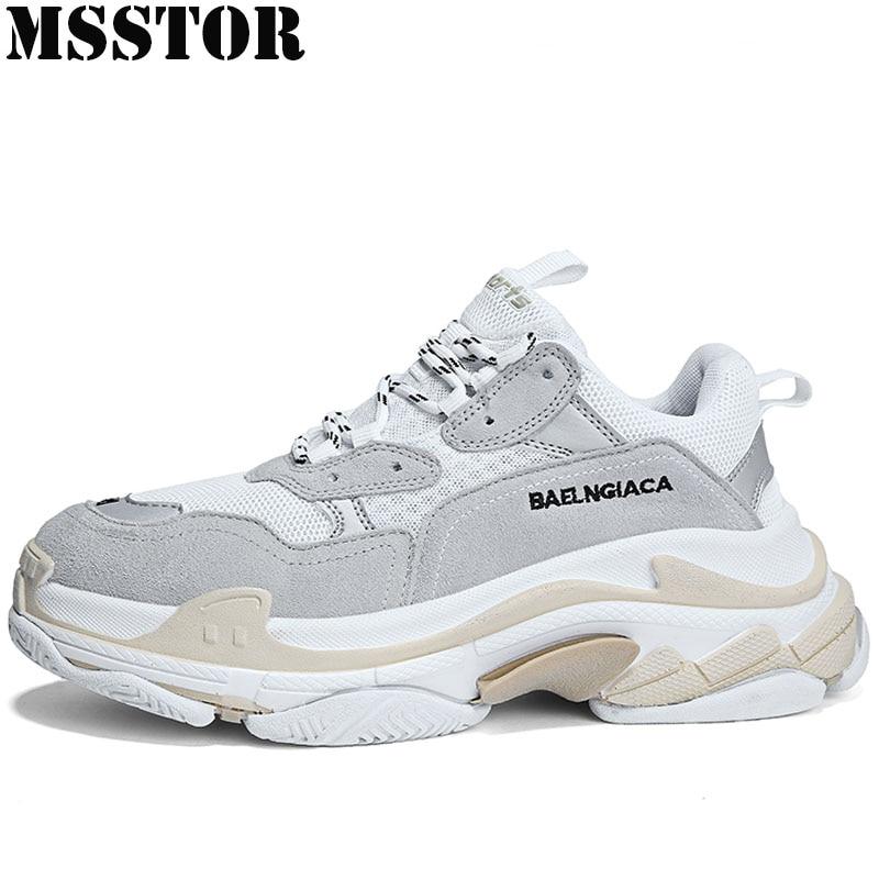 MSSTOR 2018 женские мужские кроссовки дышащие женские спортивные туфли женские брендовые уличные спортивные прогулочные мужские беговые кросс...