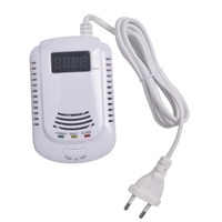 Home Standalone Plug In Combustible Gas Detector LNG LPG Coal Natural Gas Leak Alarm Sensor With