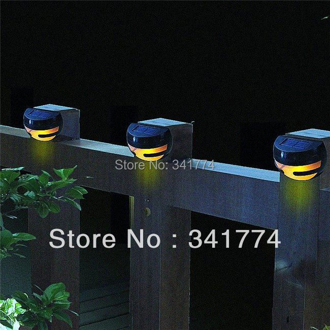 Novelty Ladybug Vintage LED Solar Panel Powered Fence Step Stair Wall Lamps  Night Light Garden Outdoor Solar Sconce Path Lights In LED Outdoor Wall  Lamps ...