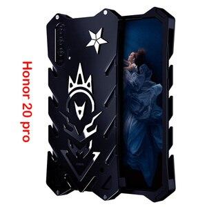 Чехол для Honor 20 Pro Zimon, роскошный, новый, Тор, сверхмощный, бронированный, металлический, алюминиевый, чехол для телефона Huawei Honor 20 Honor20 pro