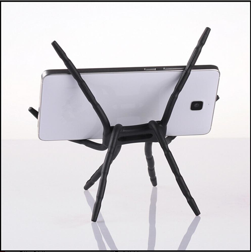 Universal Cool Phone DIY Spider Mobile Phone Holder GPS