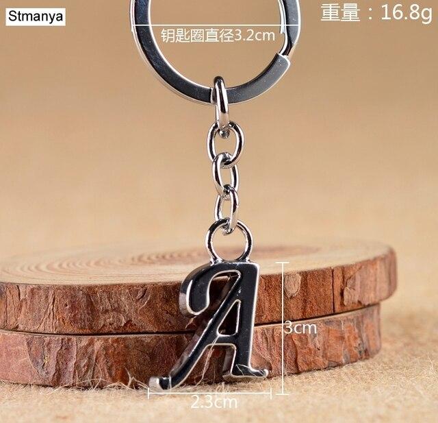 Купить новинка сделай сам a z буквы брелок для мужчин серебряный металлический