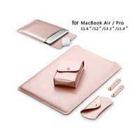 Impermeabile Custodia Per Notebook 11.6 12 13.3 15 15.4 pollice Laptop bag in pelle copertura del sacchetto per macbook air pro 11 12 13 15 caso SY001