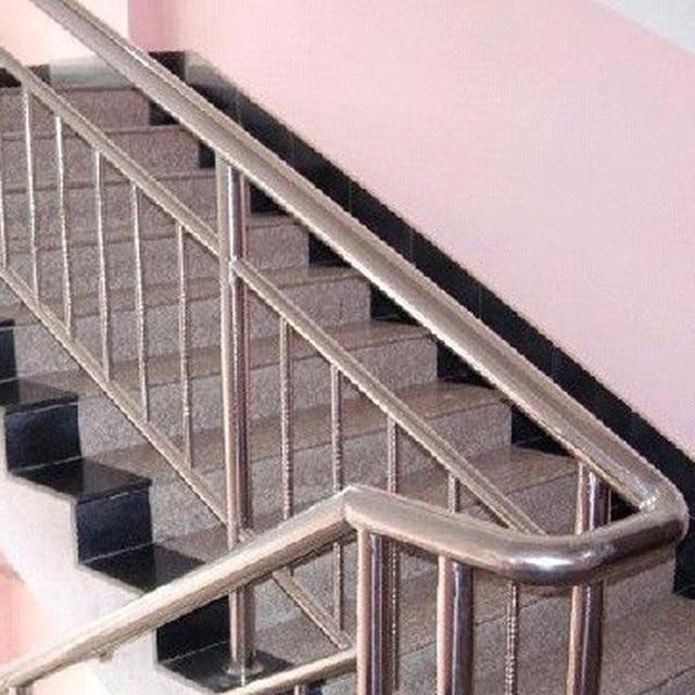 Ordinaire Mini Stainless Steel Staircase Column Staircase Handrail Fence Indoor  Balcony Railing Duplex Custom Installation