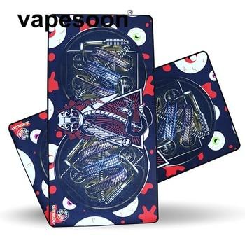 VapeSoon Proof-oil Vape Mat 78.5*40 mm  Electronic Cigarette Work Pad Atomizer Coil DIY work mat operation equipment mouse