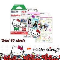 Genuine 3 Packs Fujifilm Instax Mini Film Hello Kitty For Fuji Mini 9 8 7s 7 50s 50i 90 25 Share SP 1 SP 2 Instant Photo Cameras