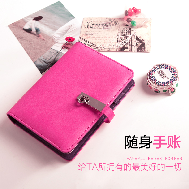 CAGIE A6 Spiral Notebook Business Notepad Creative Stationery Diary 1PCS