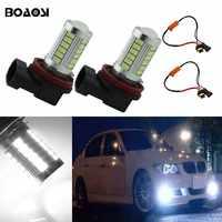 BOAOSI 2x H11 Led-lampen Für Nebelscheinwerfer Kein Fehler Für BMW 3/5-Serie 328i 335i E39 525 530 535 E46 E61 E90 E92 E93 F10 X3 F25