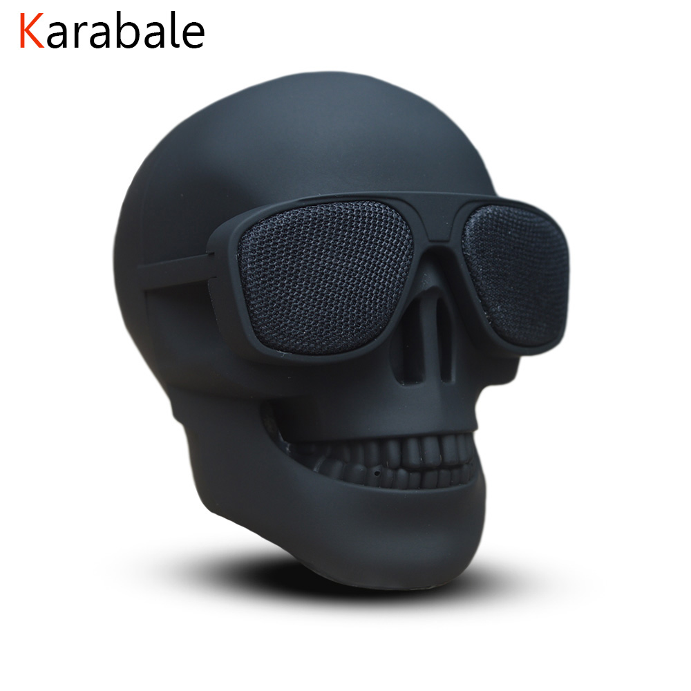 Skull Speaker Subwoofer Multipurpose Mini Wireless Portable NEW Bluetooth Mobile