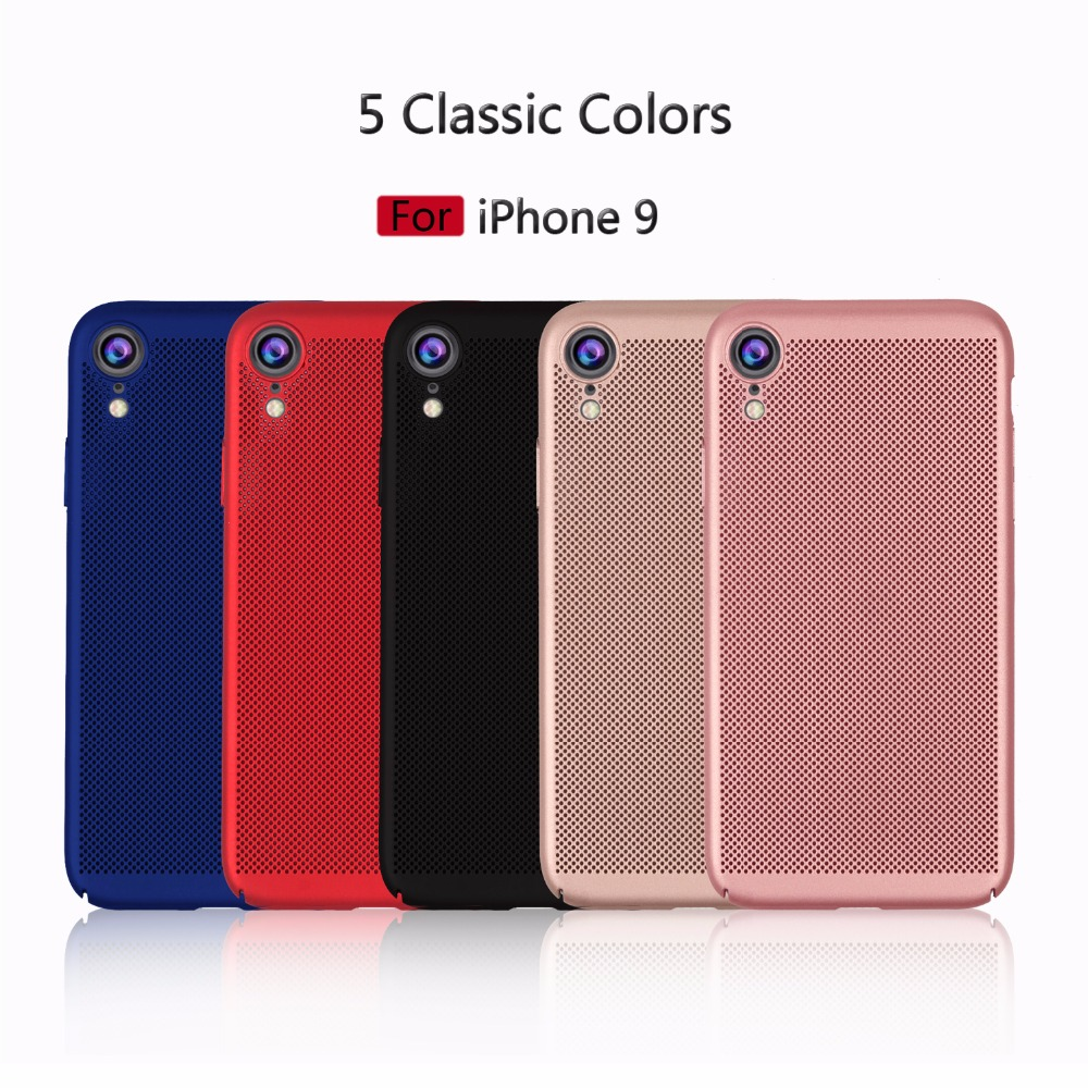 For iPhone XR case Heat Dissipation Cooling Housing Honeycomb Back ...