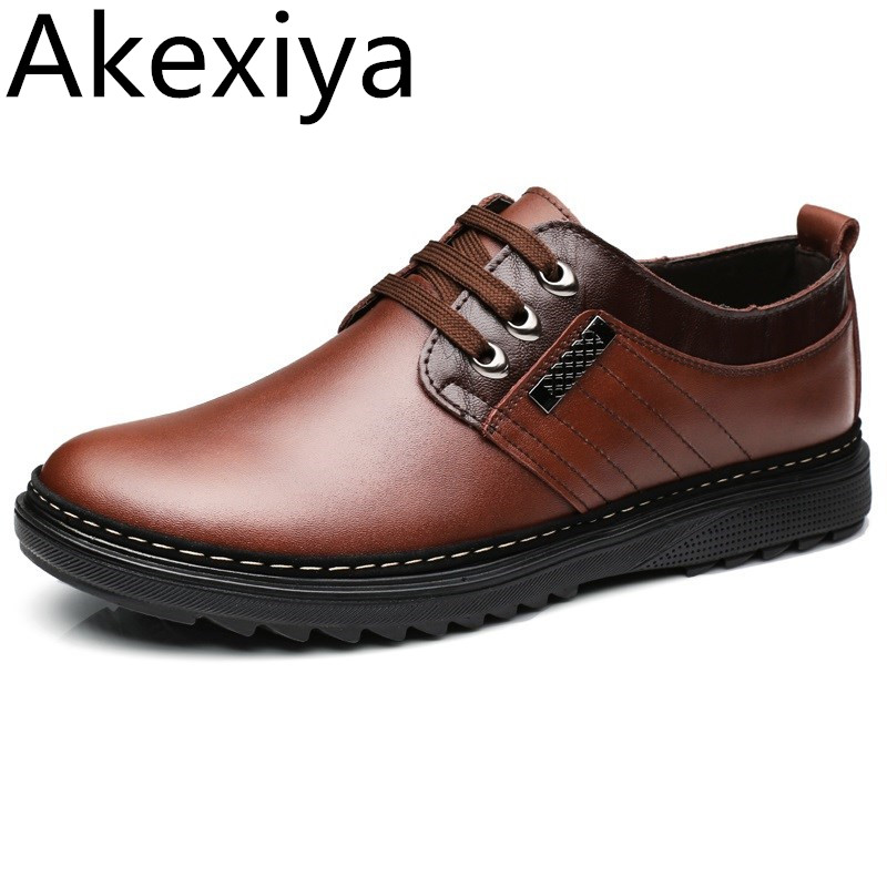 Avocado Store Akexiya 2017 New Men Oxfords Genuine Leather Shoes Business Men Shoes Men Dress Shoes Wedding Shoes