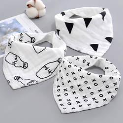 AZEOSHE детские нагрудники мальчик бандана для девушки вода поглощает нагрудник отрыжка ткани Треугольники хлопковый Детский шарф отрыжка