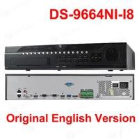 В наличии Hik Professional 64 канала системы видеонаблюдения DS-9664NI-I8 Встроенный 4 к NVR до 12MP разрешение 8 SATA 2 HDMI