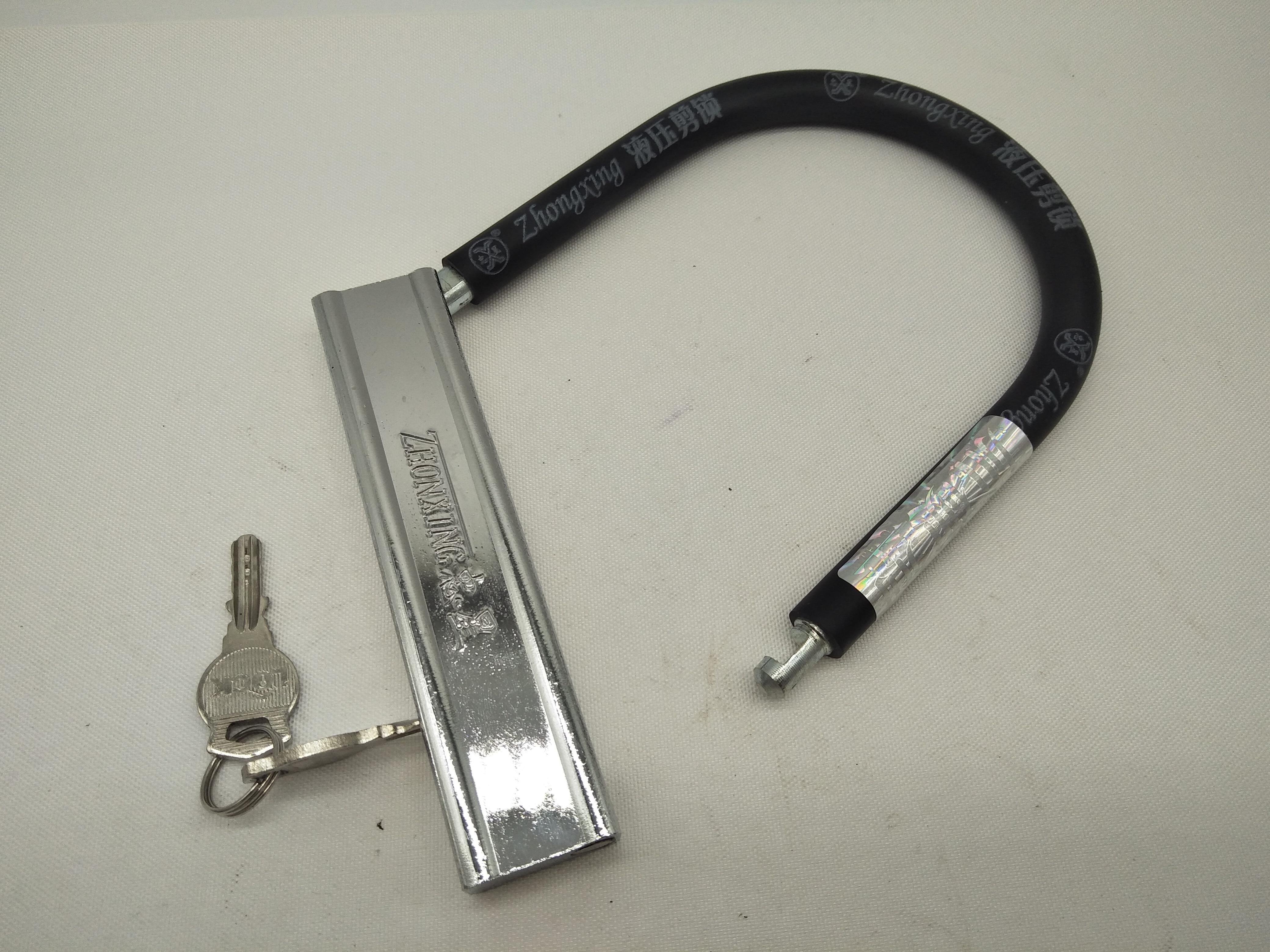 A305 Professional Smart Waterproof Mechanical U-lock Stainless Steel Bike Motorcycle Anti-hydraulic Protection Lock