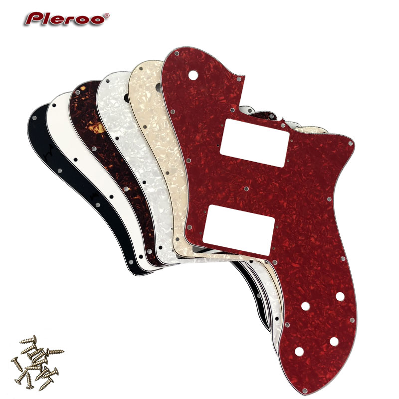 Pleroo Custom Guitar Parts - For US Fd 72 Tele Deluxe Reissue Pickguard Replacement , Multicolor choice